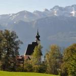 Pfarrkirche in Steinbach am Attersee