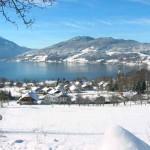 Steinbach am Attersee - Winteransicht
